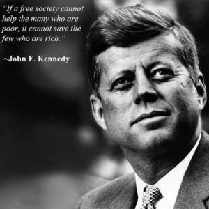 JFK on poverty