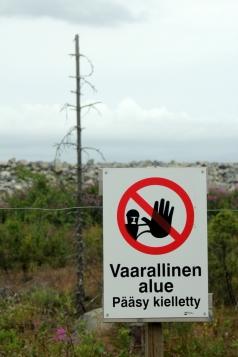 Vaarallinen alue